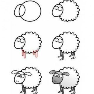 Как рисовать животных поэтапно карандашом для начинающих 12