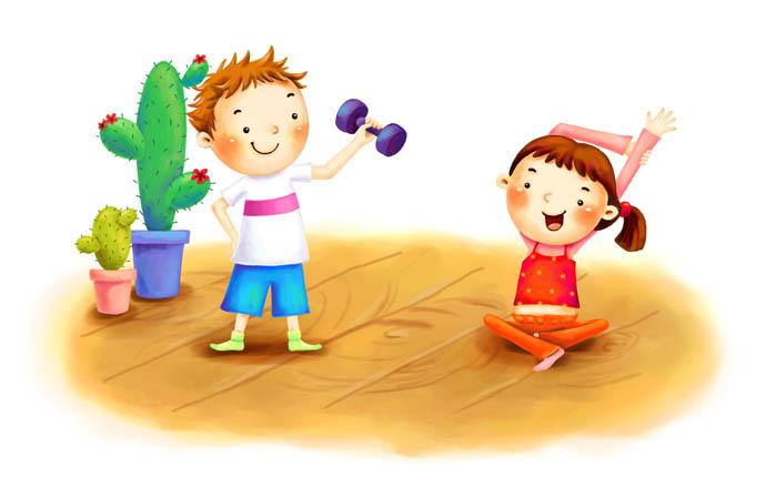 Красивые картинки - Здоровый образ жизни для детского сада 10