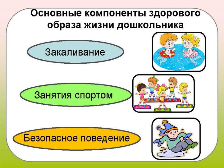 Красивые картинки - Здоровый образ жизни для детского сада 18