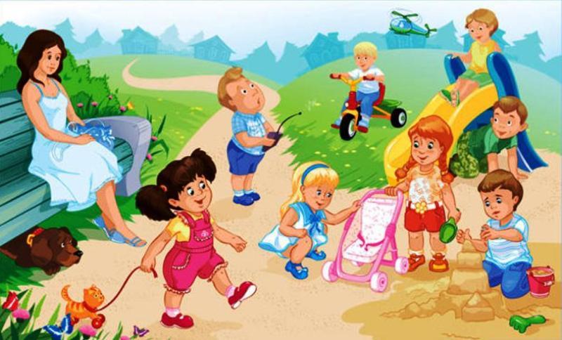 Красивые картинки - Здоровый образ жизни для детского сада 2