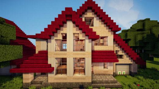 Прикольные и красивые дома в майнкрафте - фото, картинки 9
