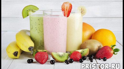 Протеиновый коктейль для похудения в домашних условиях - рецепт 1
