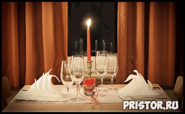 Романтический ужин для мужчины - как улучшить отношения 2