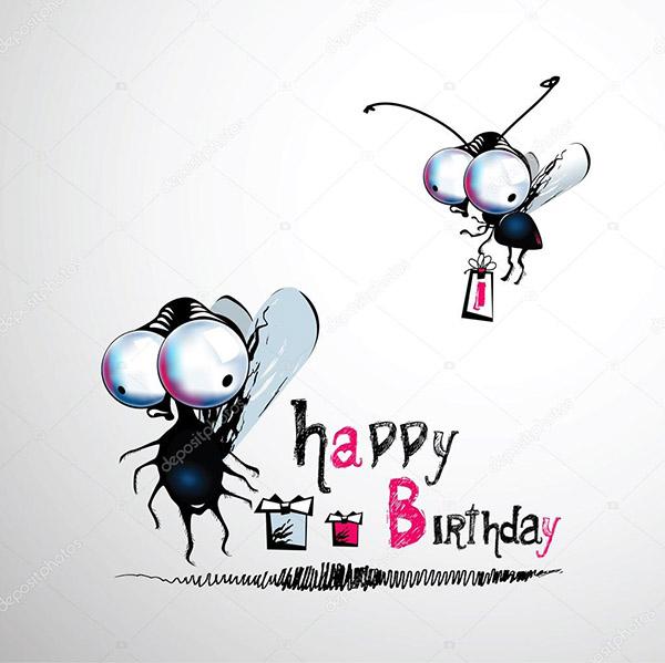 Смешные картинки поздравления С Днем Рождения - смотреть, скачать, бесплатно 10