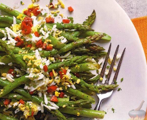 Спаржа рецепты приготовления - интересные блюда из спаржи 5