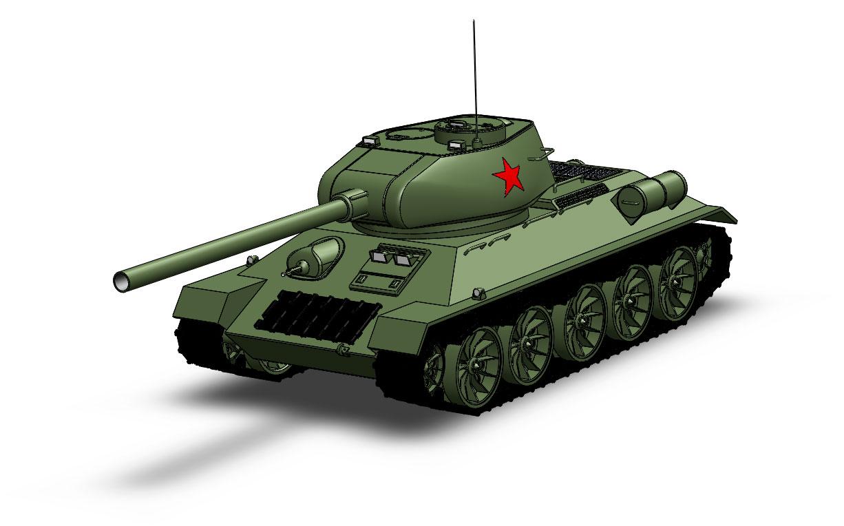 Танк т-34 картинки - красивые, прикольные, классные, крутые 4