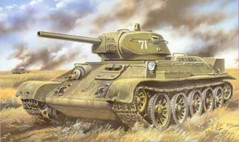 Танк т-34 картинки - красивые, прикольные, классные, крутые 5