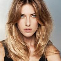 Эффект выгоревших волос на темных волосах - фото, описание 2