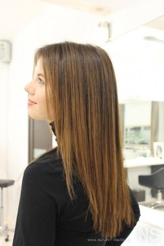 Эффект выгоревших волос на русые волосы - описание, фото 1