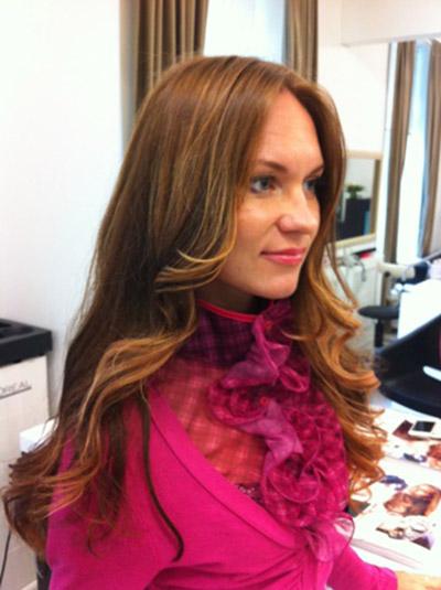 Эффект выгоревших волос на русые волосы - описание, фото 5