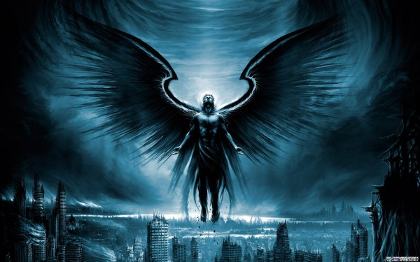 Картинки ангелов с крыльями - красивые, прикольные, интересные 1