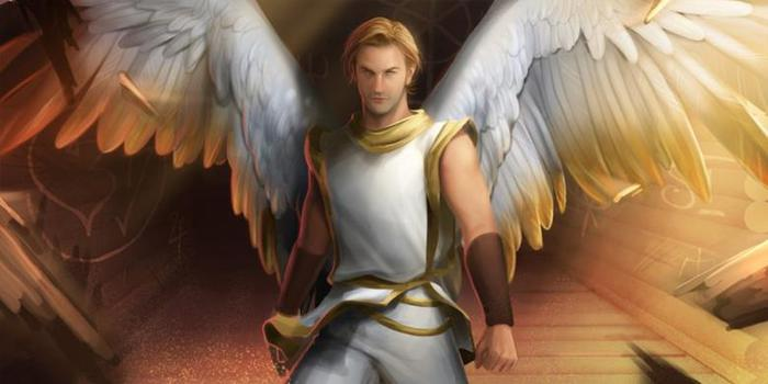 Картинки ангелов с крыльями - красивые, прикольные, интересные 10