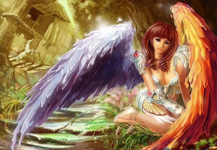 Картинки ангелов с крыльями - красивые, прикольные, интересные 11