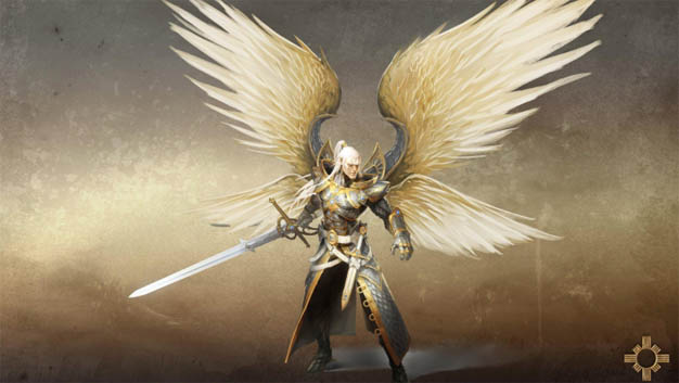 Картинки ангелов с крыльями - красивые, прикольные, интересные 13