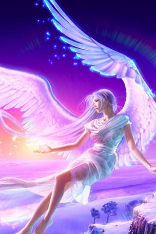 Картинки ангелов с крыльями - красивые, прикольные, интересные 14