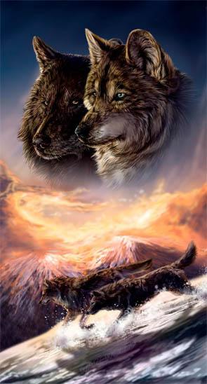 Картинки волков - скачать, смотреть, красивые, прикольные 15