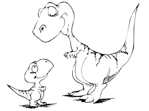 Картинки динозавров для детей - прикольные, красивые, классные 1