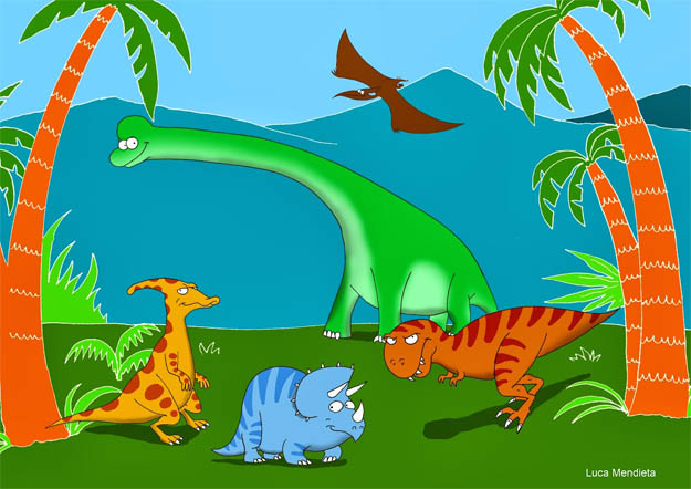 Картинки динозавров для детей - прикольные, красивые, классные 6