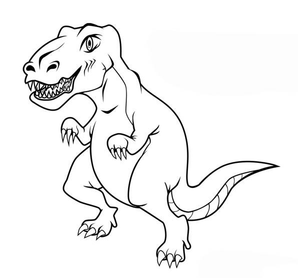 Картинки динозавров для детей - прикольные, красивые, классные 9