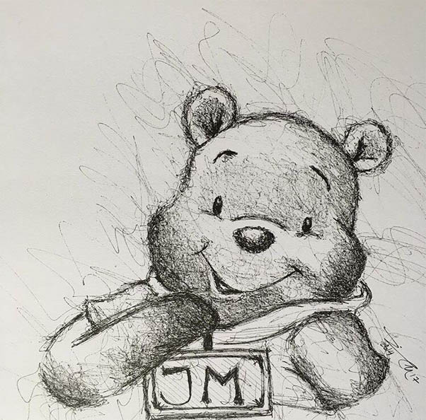 Картинки для срисовки легкие - для девочек и мальчиков, новые 3