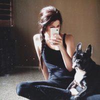 Картинки на аватарку для девушек брюнеток - скачать, смотреть 6