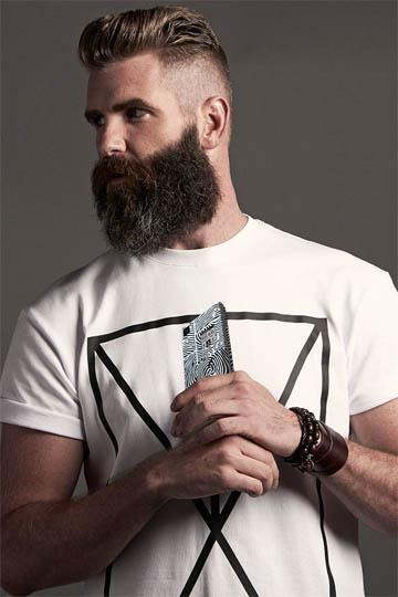 Красивая и стильная борода у мужчин фото - смотреть бесплатно 11