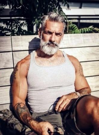 Красивая и стильная борода у мужчин фото - смотреть бесплатно 9