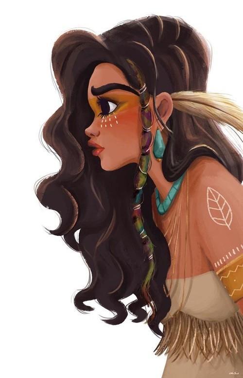 Красивые и крутые картинки на аву для девушек нарисованные 12