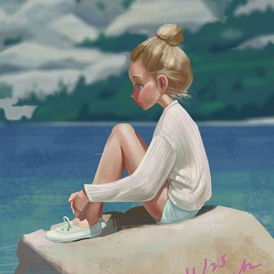 Красивые и крутые картинки на аву для девушек нарисованные 3
