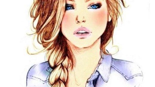 Красивые и крутые картинки на аву для девушек нарисованные 9