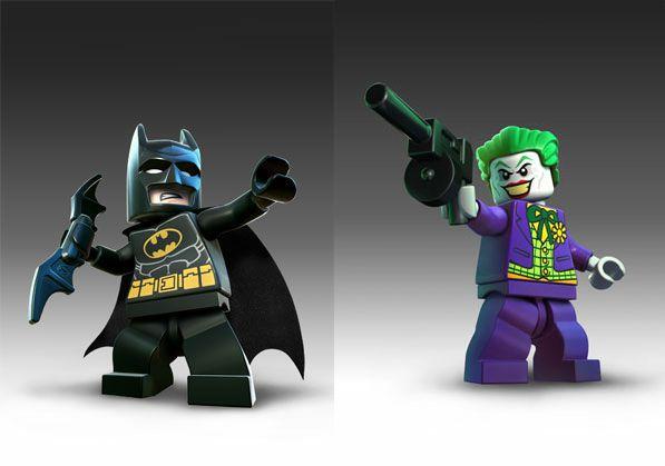 Красивые и прикольные картинки Лего Бэтмен - скачать, смотреть 3