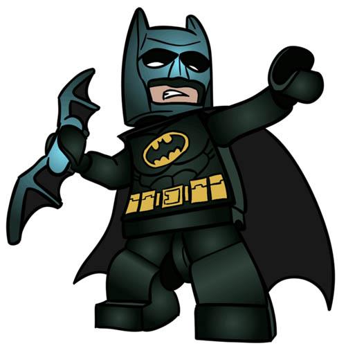 Красивые и прикольные картинки Лего Бэтмен - скачать, смотреть 4