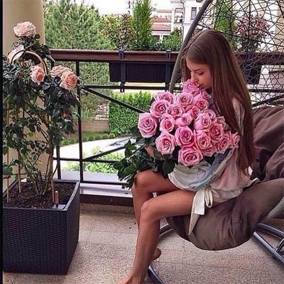 Красивые картинки девушек с цветами - смотреть, скачать бесплатно 18