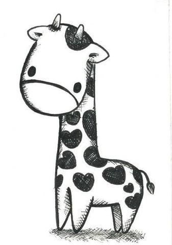 Красивые картинки животных для срисовки - смотреть бесплатно 9