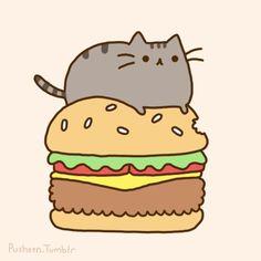 Красивые картинки котов для срисовки - легкие, простые, прикольные 10