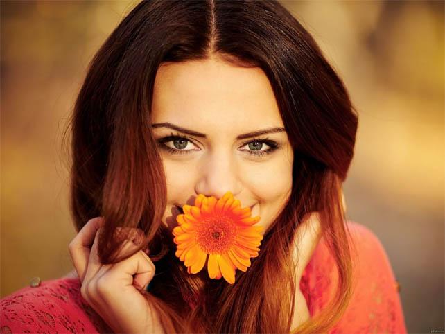 Красивые фото девушек с цветами - скачать, смотреть бесплатно 6