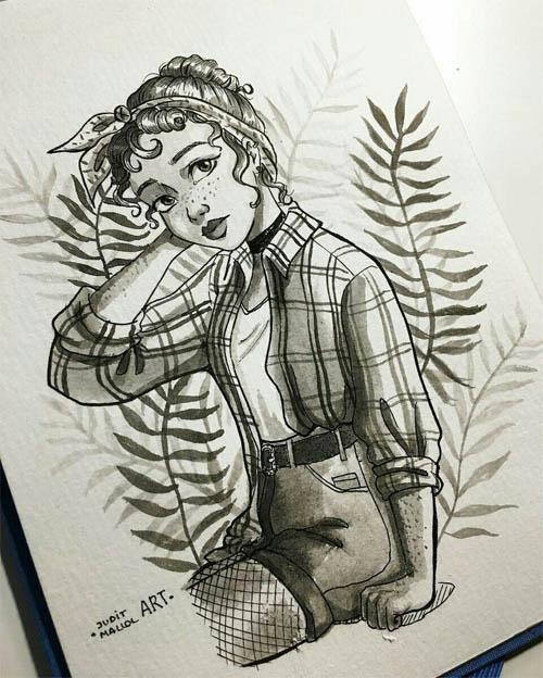 Легкие картинки для срисовки карандашом для начинающих 8