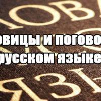 Пословицы и поговорки о русском языке - красивые, прикольные заставка