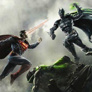 Прикольные картинки Бэтмен против Супермена - смотреть бесплатно 12