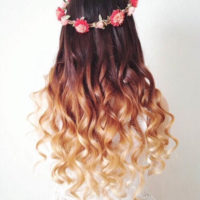 Скачать картинки - девушка с цветами со спины, красивые, крутые 5