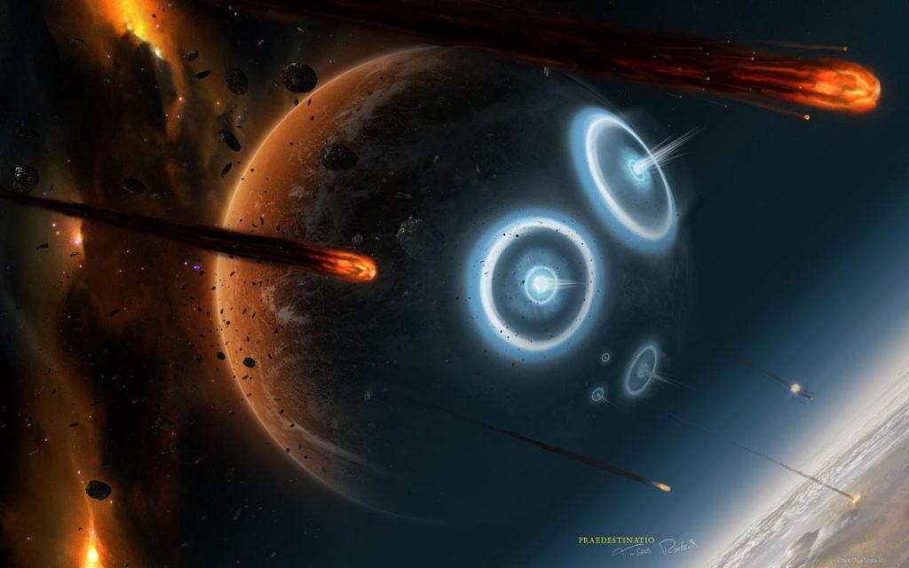 Скачать картинки на рабочий стол - космос, галактика, Земля 1