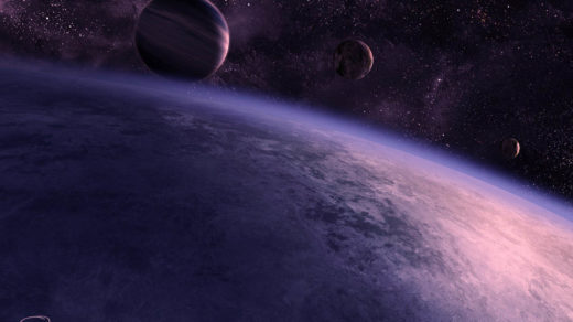 Скачать картинки на рабочий стол - космос, галактика, Земля 8