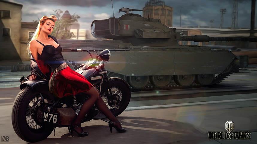 Скачать картинки танки - прикольные, красивые, интересные 11