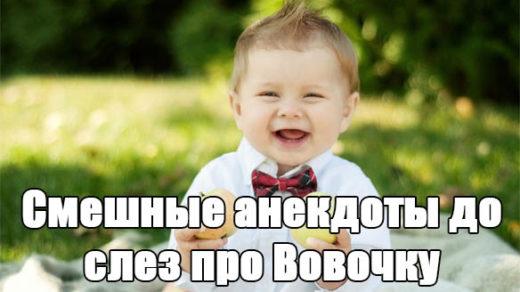 Смешные анекдоты до слез про Вовочку - читать бесплатно заставка