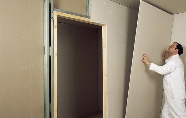 Выравнивание стен гипсокартоном своими руками - советы, способы 3