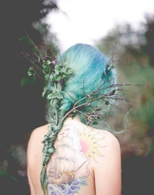Девушка с цветами без лица - картинки, фото, красивые, классные 13