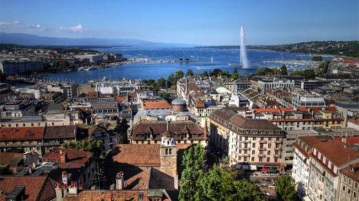 Достопримечательности Женевы - Озеро Леман, туризм 1
