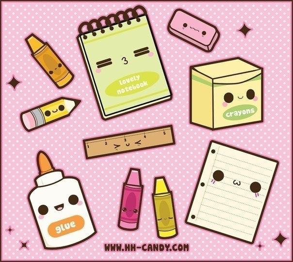 Картинки для срисовки в личный дневник - легкие, красивые, простые 3
