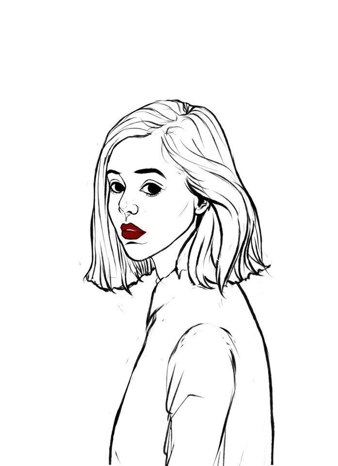 Картинки для срисовки карандашом - легкие, красивые, классные 10