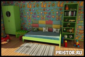 Освещение в детской комнате - основные советы и правила 4